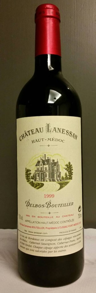 Chateau lanessan 1999 for Chateau lanessan
