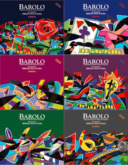Barolo Art 酒標圖