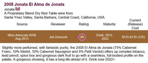Jonata 2008
