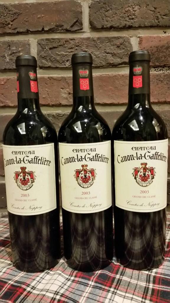 canon La Gaffeliere 2003